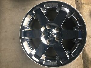 20 Inch 2009 2012 Dodge Ram 1500 Laramie Oem Chrome Alloy Wheel Rim 2365
