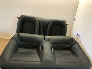 2015 2017 Ford Mustang Gt 5 0 Used Black Leather Rear Seats Oem