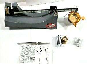 LYMAN OHAUS RELOADING BALANCE SCALE with ASSORTED CHECK WEIGHTS