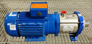 Goulds Multi stage Stainless Centrifugal Pump E hm 5hm07n22t6pqqe Electric New