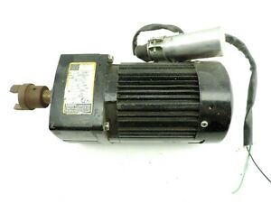 Bodine Gearmotor 0683 Hp 1 6 Type 42r5bfci e3 115v 60hz Ratio 30 1 Tested