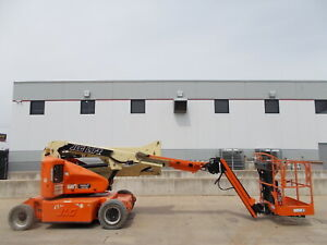 2013 Jlg E400ajp 40ft Electric Boom Lift Man Lift Aerial Lift Boom Manlift Man