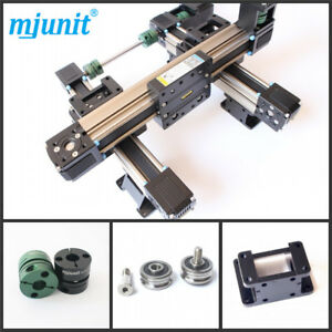 Mjunit Xy 2 axis Cnc Small Linear Rail With 400x450mm Stroke Length