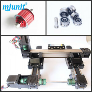 Mjunit 2 axis Belt Driven Cnc Router Linear Table With 300x500mm Stroke Length