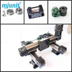 Mjunit Wood Cnc 2 axis Engraving Machine Linear Rail With 400x750mm Stroke