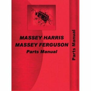 Parts Manual 55 Massey Harris 55 55