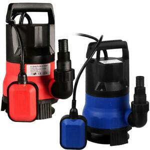 Submersible Water Pump 1 2 Hp 2000gph Garden Watering Pond Swimming Drain 09