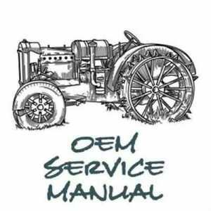 Service Manual 1120 1215 1220 Ford 1120 1220
