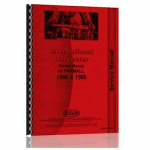 Service Manual 1566 1568 International 1568 1566