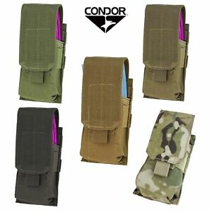 Condor MA5 Tactical Single 5.56 .223 Rifle Magazine Mag MOLLE Pouch Holster $14.95