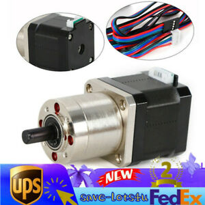 Nema17 42 Planetary Gear Stepper Motor Reduction Ratio1 27 For Diy Cnc 3d