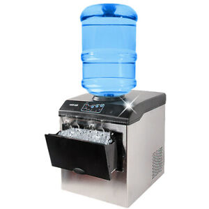Ce Commercial Ice Making Machine Ice Maker Cube Machine 25kg day Free Shipping