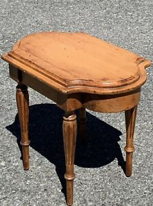 Lovely Antique 19th Century Federal Or Louis Style Miniature Side Table