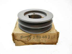 New In Box Browning 2tb48 Bushing 2 Groove Sheave 5 5 16