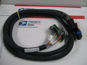 Western Fisher Snow Plow 4 Port Headlight Wiring Harness 26638 New A Few 2b 2d