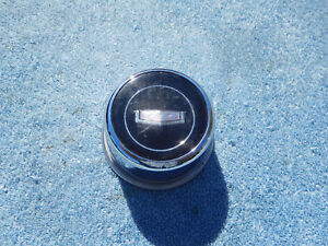 1965 1966 Chevrolet Caprice Horn Button Steering Wheel Cap