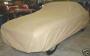 Aston Martin Db5 Db6 Fitted Tan Flannel Car Cover
