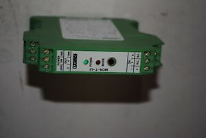 Phoenix Contact Mcr t ui e Module Temperature Measuring Transducer