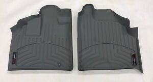 Weathertech Floorliner Floor Mats For Honda Odyssey 1999 2004 1st Row Grey