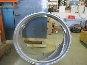 Used Tractor 14 X 38 6 Rail Power Adjust Spin Out Rim Tire Wheel