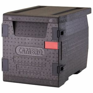 Cambro Epp300110 Black Front Loading Cam Gobox Catering Box