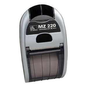 Brand New Zebra Mz 220 Point Of Sale Thermal Printer Bluetooth And Power Supply