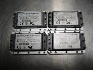 4 Vicor Isolated Dc dc Converters 3 3v 22 7a