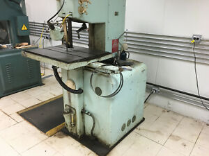 Contour maticb 16 Bandsaw Doall 16 Vertical Metal Cutting Saw Hyd Table Feed