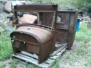 Model A Pu Truck Cab Hot Rat Rod Ford Flathead V 8