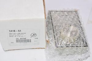 New White Rodgers 1a16 51 Heavy duty Line Voltage Heat cool Thermostat