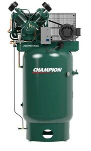 Champion Compressor vr10 12 120 Gal Vertical 10 Hp Three Phase new