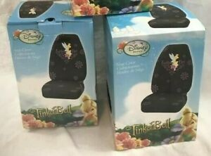 Tinkerbell Disney 2 New Bucket Seat Covers Fearless Flirt Fairies Flowers