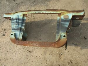 63 64 65 66 Dodge Dart Radiator Core Support W Inner Fender Sections Oem Solid
