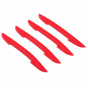 Car Door Edge Guard Anti Collisio Molding Protection Strip Scratch Protector Red