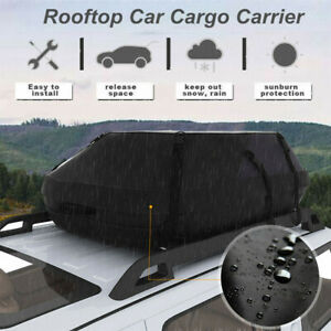 15ft 100 Waterproof Car Top Carrier Cargo Roof Bag Storage Luggage Car Travel