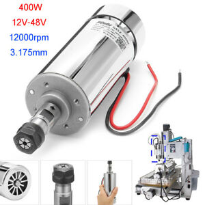 Dc12 48v 400w Er11 Air Cooled Spindle Motor For Cnc Engraving Milling Machine