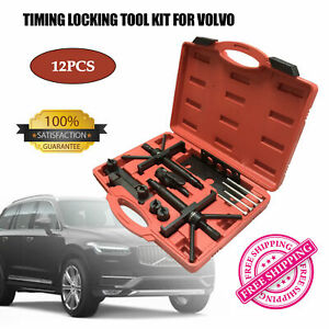 For Volvo Crankshaft Camshaft Cam Engine Alignment Timing Locking Tool Kit New
