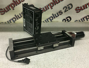 Parker 506101s 1p0 Linear Positioning Table W Parker Compumotor S6 Driver