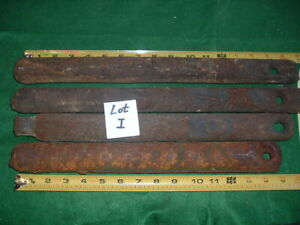 Lot Of 4 Antique Cast Iron Double Hung Window Sash Counter Weights 7 Lbs Pounds