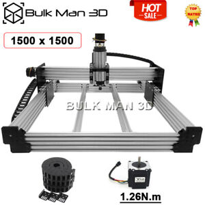 1 5 1 5m 4axis Workbee Cnc Router Machine Kit Milling Engraver Cable Chain Set