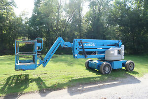 Genie Z45 25j Dc Manlift 45 Articulating Boom Lift Electric Jlg E450 Aerial
