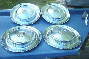Oe Set Of 4 1957 Dodge Wheelcovers Better Than Most Free Us Shipping