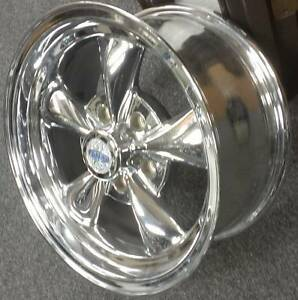 1 15x7 Cragar S S 40th Anniversary Chrome Wheel 5x4 5 3mm Offset Style 610