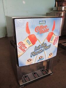 silver King sknes3 Commercial Refrigerated 3 Flavors Coffee Creamer Dispenser