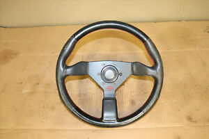 Jdm Genuine Personal Steering Wheel Red Stitched For Honda Acura Integra Dc2 Eg