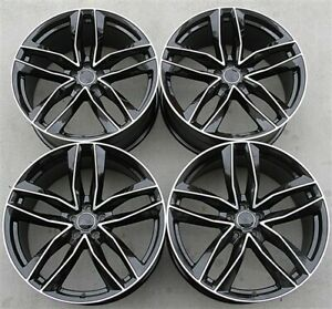 Set 4 Avant Style 20x9 5x112 Wheels Fit Audi A4 S4 A5 A7 A6 Q5 Rs4 A8 Sq5 S4