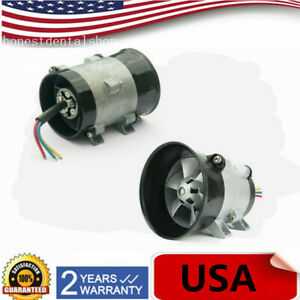 12v Car Electric Turbine Power Turbo Charger Boost Air Intake Fan Esc Control
