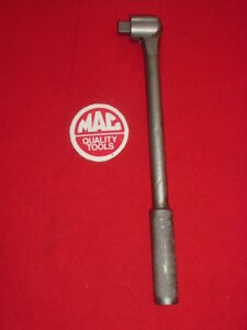 Vintage Mac Tools v 12 F 1 2 Drive Swivel Head Breaker Bar 12 Usa Made