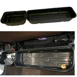 For 2015 2019 F 150 Underseat Storage Tool Box Portable Basket Large Small Box