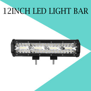 12 Inch 1120w Led Light Bar Combo Spot Flood For Jeep Off Road Truck Atv Suv 10